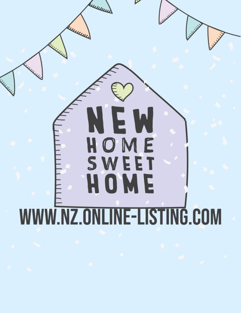 Enjoy NZ Home Sweet Home Things